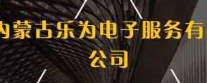 内蒙古乐为电子服务有限公司